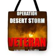 Desert Storm Vet Phone Case Work Tote Bag