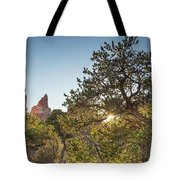Desert Sunburst Tote Bag