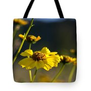 Desert Sunflower Tote Bag
