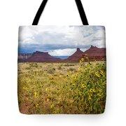 Desert Sunflowers Tote Bag
