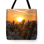 Desert Sunrise Tote Bag