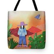 Desert Sunrise By Mary Ellen Palmeri Tote Bag