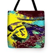 Desert Tears Tote Bag