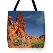 Desert Tower Valley Of Fire Tote Bag