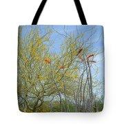 Desert Trees Tote Bag