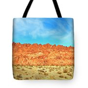 Desert Valley Of Fire Tote Bag