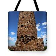 Desert View Watchtower At Grand Canyon Tote Bag