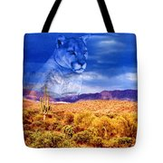 Desert Visions Tote Bag by Lorraine Foster