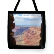 Desert Watchtower View Grand Canyon  Tote Bag