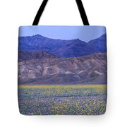 Desert Wildflowers, Death Valley Tote Bag