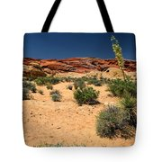 Desert Yucca In Bloom Valley Of Fire Tote Bag