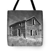 Deserted Home On The Range Tote Bag