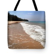 Deserted Shore Of The Island Of Tioman Tote Bag