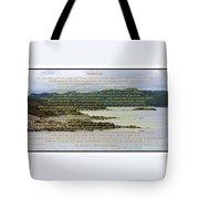 Desiderata Rugged Coastline Tote Bag