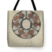 Design For A Memorial Plaque With W And A Coat Of Arms, Carel Adolph Lion Cachet, 1874 - 1945 Tote Bag