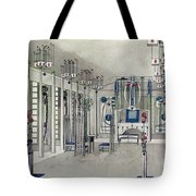 Design For A Music Room With Panels By Margaret Macdonald Mackintosh Tote Bag