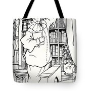 Design For The Cover Of Pierrot Tote Bag