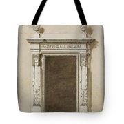 Design For Wall Decorations For The Salon De Compagnie Tote Bag