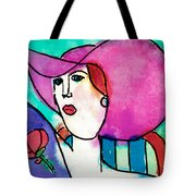 Design Lady Tote Bag