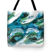 Design Waves Tote Bag