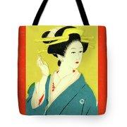 Designer Series Japanese Matchbox Label 128 Tote Bag