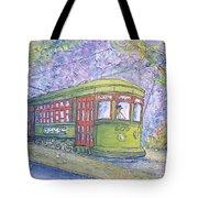 Desire Street Streetcar Tote Bag