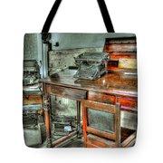 Desk Or Typewriter Tote Bag