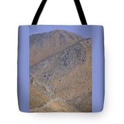 Desolate Highway Tote Bag