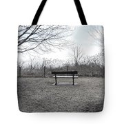 Come Sit A While Tote Bag