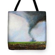 Desolate Tornado Tote Bag