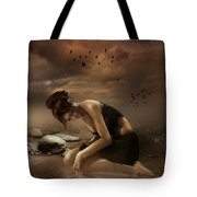 Desolation Tote Bag by Mary Hood