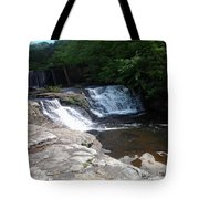 Desoto Falls In Alabama Tote Bag