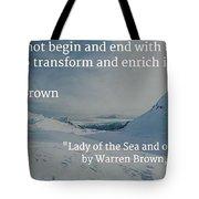 Destiny Of Life Tote Bag