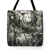 Destroy Plate Tote Bag