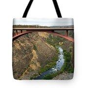 Desutches River Bridge Tote Bag