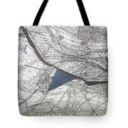 detail, ''Blues'' Tote Bag