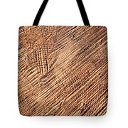 Detail Cut On Trunk Wood Tote Bag