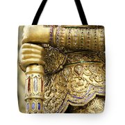 Detail From A Buddhist Temple In Bangkok Thailand Tote Bag
