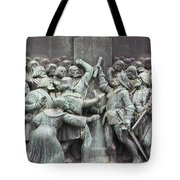 Detail From The Reformation Monument In Copenhagen Tote Bag