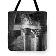 Detail Of Cloister At Cong Abbey Cong Ireland Tote Bag