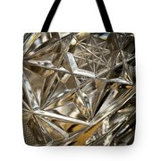 Detail Of Cut Glass Tote Bag