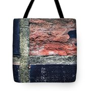 Detail Of Damaged Wall Tiles Tote Bag