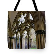 Detail Of Salisbury Cathedral Cloister  Tote Bag