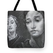 Detail Of Stressed Tote Bag