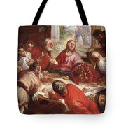 Detail Of The Last Supper Tote Bag