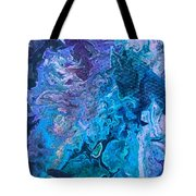Detail Of Waves 6 Tote Bag by Robbie Masso