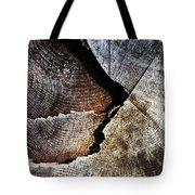 Detail Old Sawn Stump Tote Bag