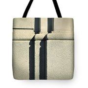 Detail Stone Pillars With Shadow Tote Bag
