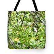 Detailed Tree Branches 4 Tote Bag