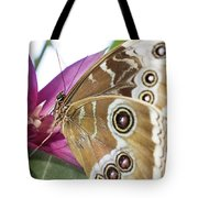 Detailed Wings Tote Bag